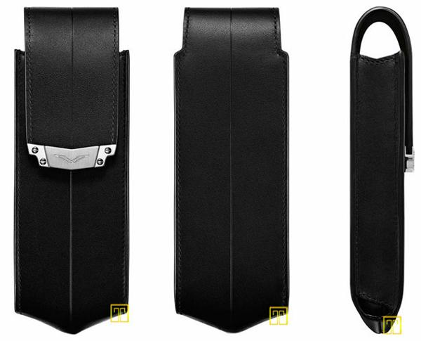 black-leather-vertical-case-with-stainless-steel-1